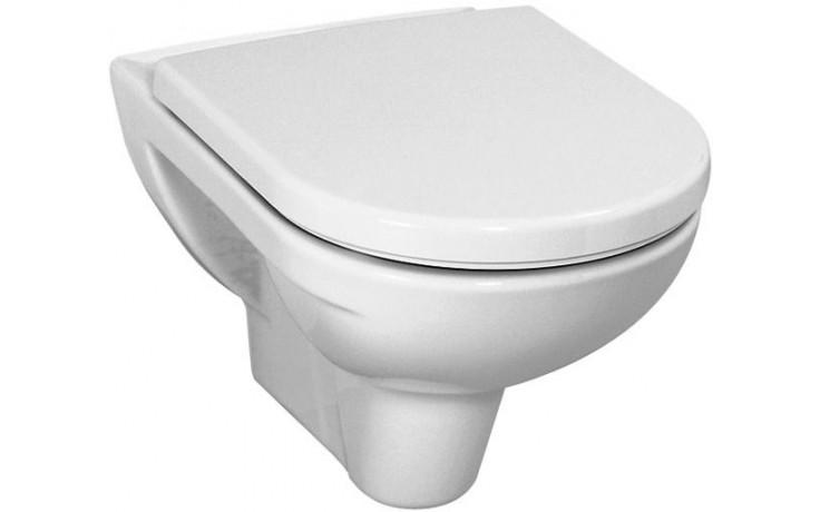 WC závěsné Laufen odpad vodorovný Pro hluboké sp.  manhattan