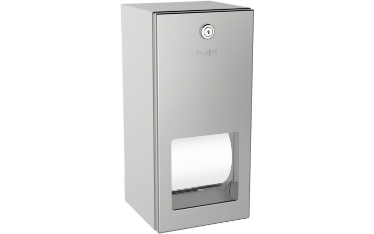 FRANKE RODAN RODX672 držák toaletního papíru 144x138mm dvojitý, nástěnný, nerez