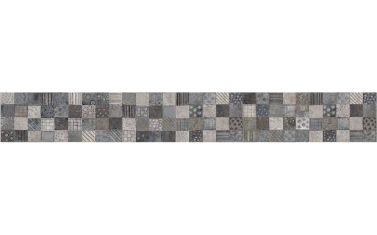 KERABEN KURSAL listela 12x50cm, folk gris KKUOV002