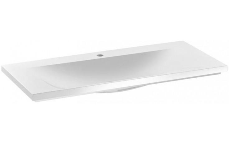 KEUCO ROYAL REFLEX nábytkové umyvadlo 1000x490x30mm s otvorem, bez přepadu, bílá