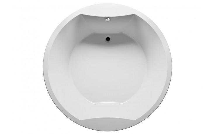 Vana plastová Riho(JVP) tvarovaná Colorado  BB0200500000000 průměr 180cm bílá