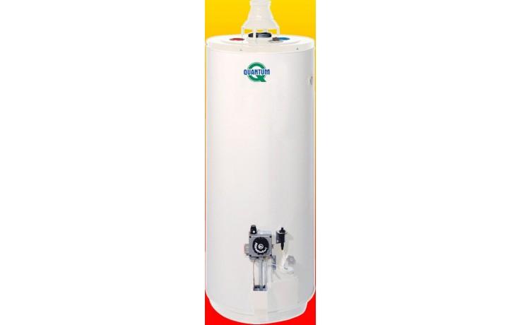 QUANTUM Q7 40 NORS plynový ohřívač 144l, 9kW, zásobníkový, stacionární, do komína, bílá