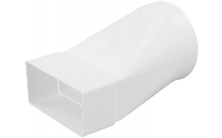 HACO CZD 104/110x55 ventilační systém 104/110x55mm, přechodový kus, bílá