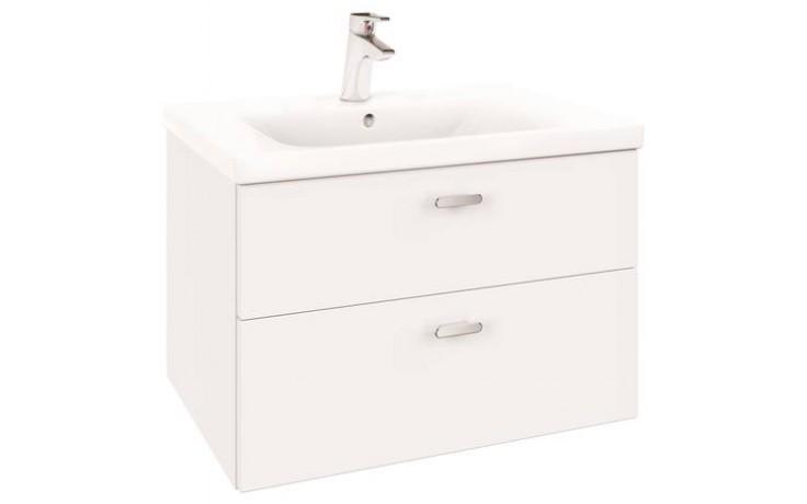 CONCEPT CUBE nábytkové umyvadlo 700x490mm s otvorem, bílá alpin E815601