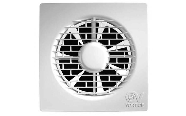 Axiální ventilátor s ultratenkou přední mřížkou, pouze 17mm, nenáročnou instalaci a údržbu zaručuje uchycení jen jedním šroubem, dodanou spolu se zařízením, montáž na strop nebo stěnu, profil lopatek ventilátoru a tělesa ventilátoru zabezpečuje vysoký prů
