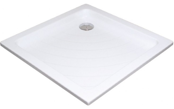 Vanička plastová Ravak čtverec ANGELA 80 LA -o.90 80x80x100 bílá