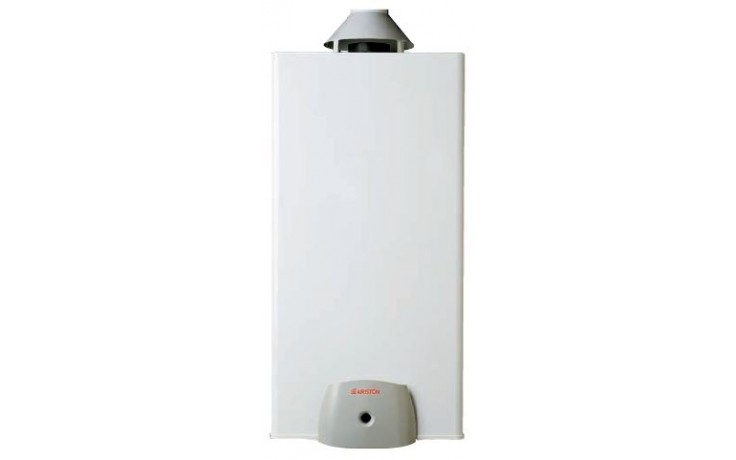 ARISTON SGA MICRO C 45 plynový ohřívač 42l, 4,4kW, zásobníkový, stacionární, do komína, bílá