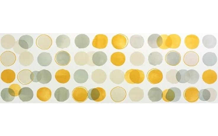 MARAZZI COLORUP dekor, 32,5x97,7cm, bianco/grigio/nero/giallo