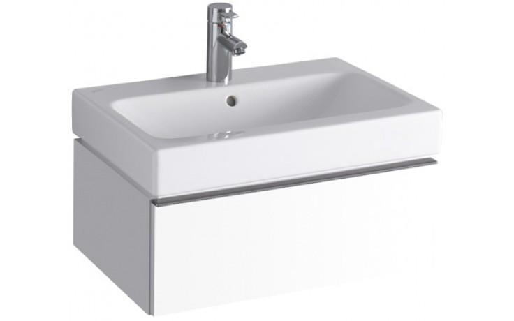 Nábytek skříňka pod umyvadlo Keramag iCon 59,5x24x47,7 cm bílá