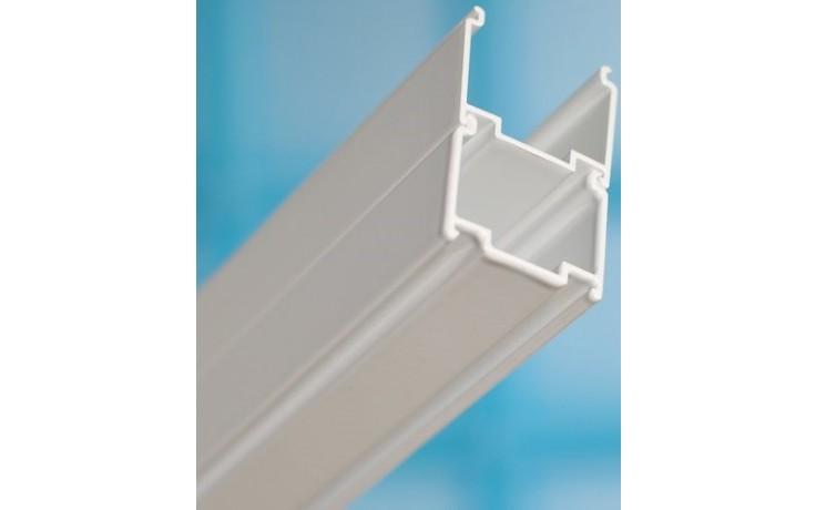 RAVAK BLNPS nastavovací profil ke sprchovým koutům výška 1900mm satin E778801U1900B