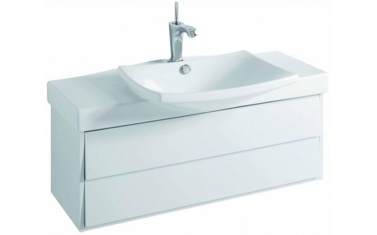 KOHLER ESCALE skříňka 980x360x340mm pod umyvadlo, 2 zásuvky, gloss titanium EB760-N21