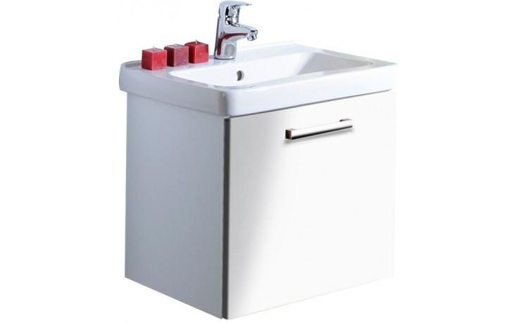 CONCEPT 300 skříňka pod umyvadlo 61x46x45cm závěsná, wenge/bílá