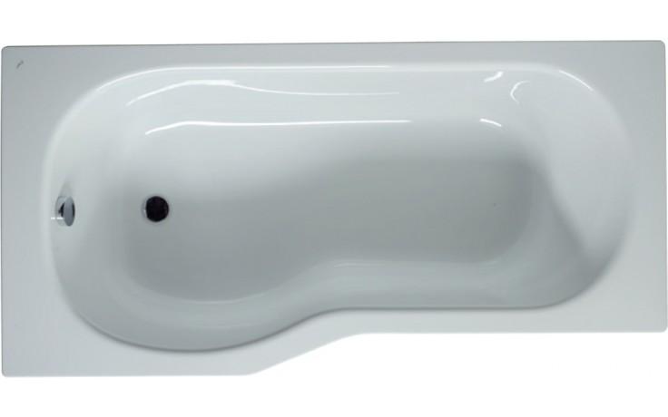JIKA TIGO vana asymetrická 1600x800/700mm vestavná, levá, bílá