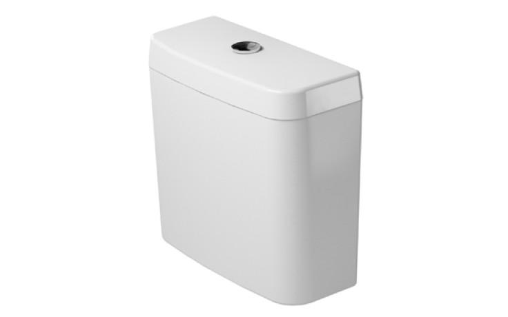 DURAVIT D-CODE splachovací nádrž 385x170mm, bílá