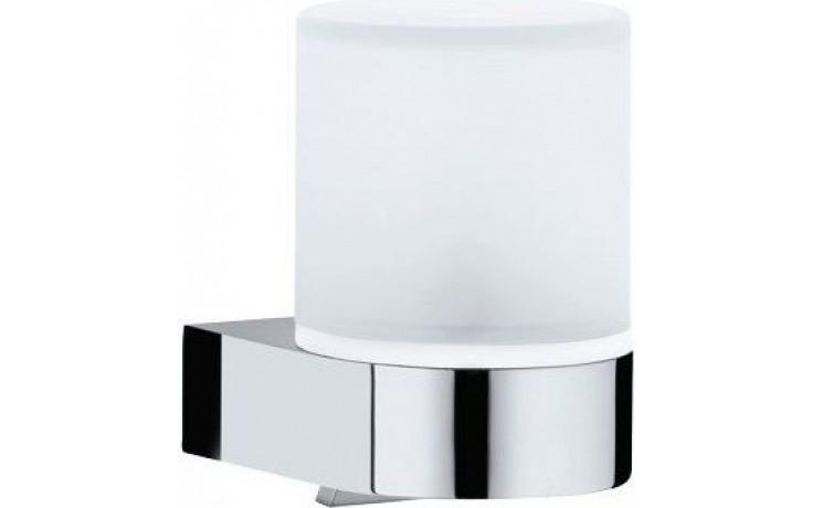 KEUCO EDITION 300 dávkovač 180ml tekutého mýdla, nástěnný, chrom/sklo