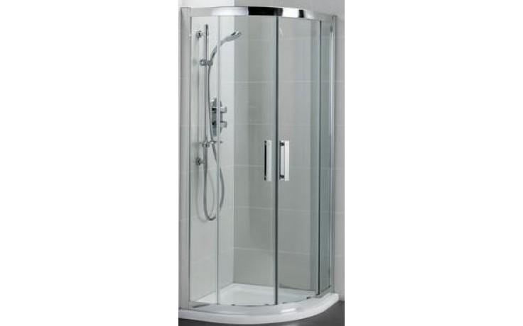 Zástěna sprchová čtvrtkruh Ideal Standard sklo Synergy L 6383 E0 900x1900 mm Silver Bright/Transparete