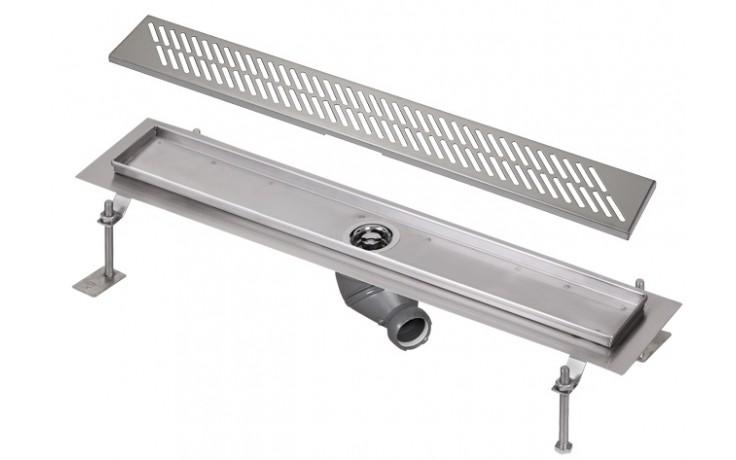 SANELA SLKN03DX koupelnový žlábek 750mm do prostoru, nerez mat