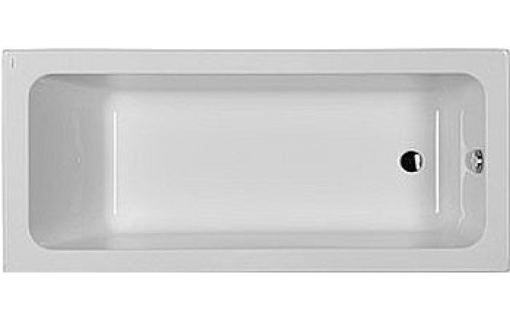KOLO MODO vana akrylátová 160x70cm, pravoúhlá, pravá, Antislide, bílá XWP1160101