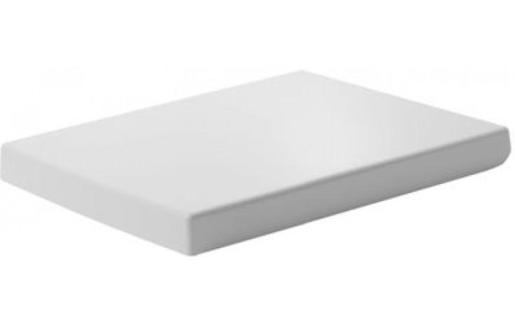 Sedátko WC Duravit duraplastové s kov. panty Vero  bílá,soft close