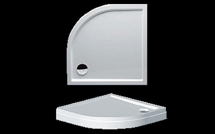 Vanička plastová Riho(JVP) čtvrtkruh DAVOS 281 DA8900500000000 DA89 s nohami a panelem 90x90x4,5cm bílá