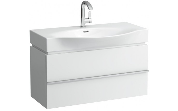 Nábytek skříňka pod umyvadlo Laufen New Case 89,5x46x37,5 cm bílá lesk