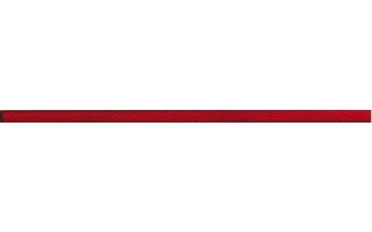RAKO FASHION listela 60x2cm červená DDRSN971
