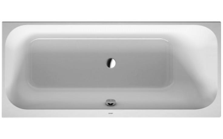 DURAVIT HAPPY D.2 vana obdélník 1600x700mm na zabudování, bílá 700309000000000