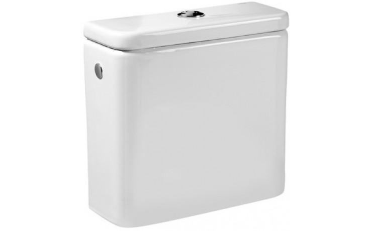 ROCA DAMA nádrž s víkem 360x360mm keramická, armatura Dual Flush, bílá 7341782000