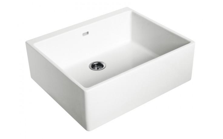 KOLO NOVA PRO dřez 60x50cm keramický, bílá 5210000