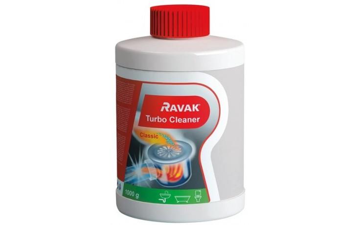 Zástěna příslušenství Ravak - Turbo Cleaner čistič odpadů 1000g(750g)