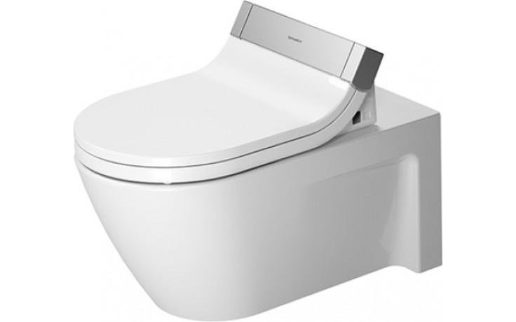 WC závěsné Duravit odpad vodorovný Starck 2 hlubokým splachováním 37,5x62 cm bílá
