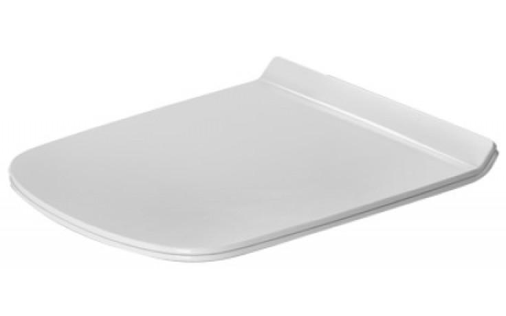 DURAVIT DURASTYLE WC sedátko bez sklápěcí automatiky, bílá 0063710000