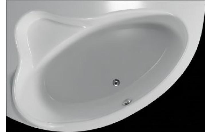 Vana plastová Teiko tvarovaná masážní Cejlon L ECO HYDROAIR 150x100x45cm bílá