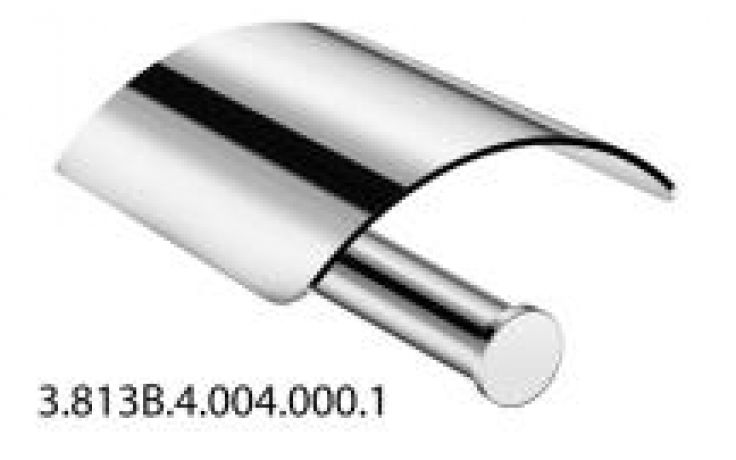 JIKA BASIC držák toaletního papíru 12,5x12x6,7cm s krytem, chrom