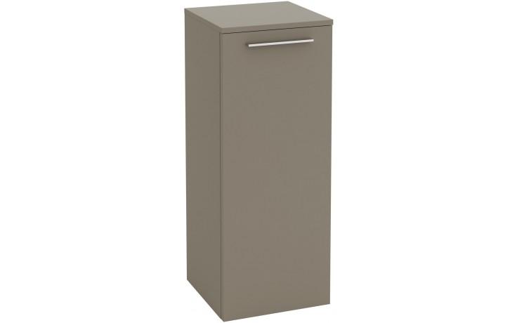 VILLEROY & BOCH VERITY DESIGN boční skříňka 350x340x872mm, bílá lesk B02500DH