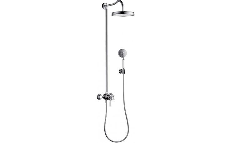 Baterie sprchová Hansgrohe nástěnná termostatická Axor Montreux vč. sprchového setu 150mm chrom
