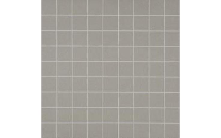 MARAZZI SISTEMB mozaika 30x30cm lepená na síťce, base grigio medio, ML9A