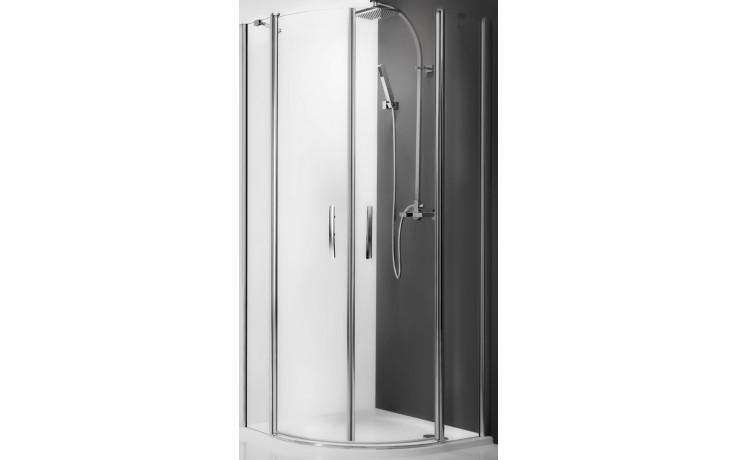 ROLTECHNIK TOWER LINE TR2/1000 sprchový kout 1000x2000mm čtvrtkruhový, s dvoukřídlími otevíracími dveřmi, bezrámový, brillant/transparent