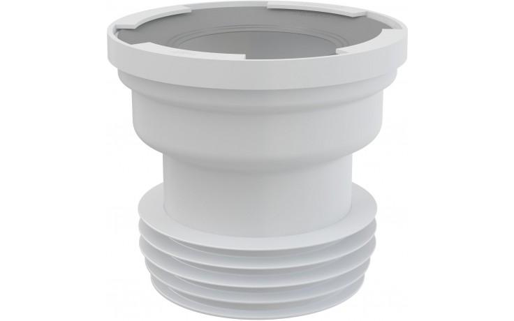 CONCEPT dopojení k WC přímé, bílá