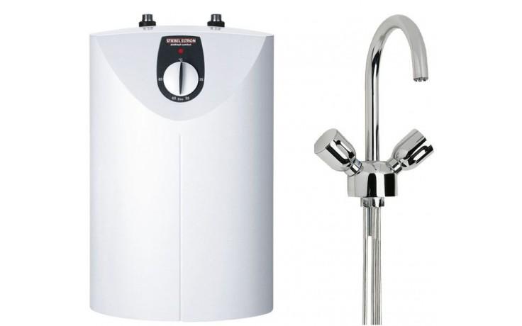 STIEBEL ELTRON set SNU 5 SLi zásobník vody 5l, beztlaký, bílá  WST-W temperační armatura
