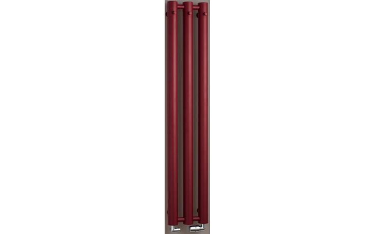 P.M.H. ROSENDAL MASSIVE R70/3RE koupelnový radiátor 2921500mm, 483W, bordó