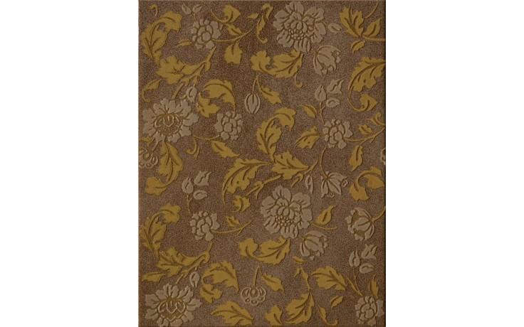 IMOLA ORTONA dekor 25x33,3cm brown, CORFINIO T1