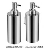 JIKA GENERIC nástěnný dávkovač tekutého mýdla 60x100x180mm chrom 3.833D.2.004.100.1