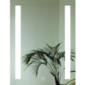 AMIRRO LUMINA SENZOR zrcadlo 60x80cm, s LED osvětlením, s dotykovým spínačem