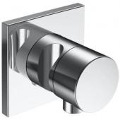 KEUCO IXMO dvojcestný ventil, uzavírací a přepínací, s napojením hadice a držákem sprchy DN 15, chrom
