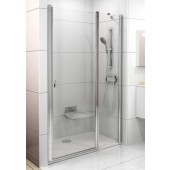 RAVAK CHROME CSD2 110 sprchové dveře 1075-1105x1950mm dvoudílné bílá/transparent 0QVDC100Z1