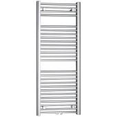 P.M.H. SAVOY CS5 koupelnový radiátor 1210/600, středové připojení, chrom