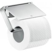 AXOR UNIVERSAL držák na toaletní papír 135mm, s krytem, chrom 42836000