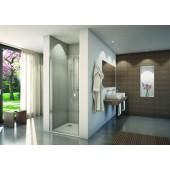 CONCEPT 200 CON1 sprchové dveře 900x2000mm jednokřídlé, aluchrom/čiré sklo concept-Clean
