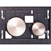 TECE LOOP tlačítková deska 208x136mm, pro kryty, nerezová ocel